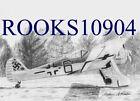 Focke Wulf Fw-190 MILITARY AIRCRAFT ART PRINT