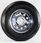 Eco Trailer Tire Rim ST225/75D15 H78-15 225/75-15 6 Lug Chrome Modular Wheel
