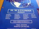 Evinrude Johnson 25 35 HP Outboard Parts Manual 1998