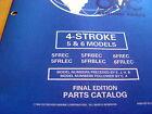 Evinrude Johnson 5 HP 6 HP Outboard Motor Parts Manual Catalog 1998