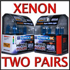 XENON HID HALOGEN HEADLIGHT BULBS 2008 2009 SATURN VUE - LOW & HIGH BEAM