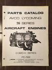 Lycoming O-320-H    76 Series Parts Manual