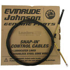 Johnson/Evinrude/OMC New OEM 11' Throttle/Shift Remote Control Cable 173111 11ft