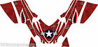 Arctic Cat M7 M8 M1000 Crossfire 2005 - 2011 Graphics Decal kit Aircraft Jaws RE