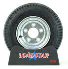 Boat Trailer Tire LoadStar 4.80x8 Galvanized Wheel 4.80-8 5 Lug 8 Inch Rim