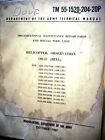 Bell OH-13E, OH-13G, OH-13H, OH-13S & TH-13T Sioux Helicopter Army Parts Manual