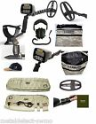 New Garrett AT Gold Metal Detector, Carry Bag,Hat, Edge,Camo Pouch, Coil Cover.