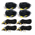 (4) 100ft (4) 150ft BNC Video Power Cable CCTV CCD DVR Security Camera Wire CLC