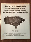 Lycoming O-540 WCF Series Engine Parts Manual