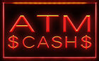 AB009 B ATM Cash Dollar Display Machine LED Light SignSign