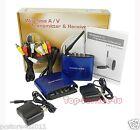 New Mini 5.8Ghz AV Sender Wireless Transmitter Receiver 200 Meters 4 Channels
