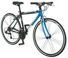 NEW Blue & Black Aluminum Fitness Frame Schwinn Volare Sporting Bicycle