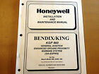Honeywell Bendix King KGP 860 GA-EGPWS  Install & Ramp maintenance manual