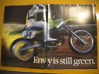 Kawasaki KX250 Pin Up Ad Excerpt American Motorcyclist December 1986 Issue AMA
