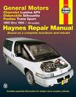 GM Chevy lumina apv oldsmobile silhouette pontiac trans am 1990-96 Haynes 38035