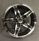 "New 15"" 5X4.5 bolt pattern Aluminum Trailer Wheel Rim Alloy SL301G 5 Lug"