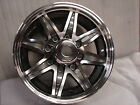 "New 17.5""X6.75  8X6.5 bolt pattern Aluminum Trailer Wheel Rim Alloy SL185G 8 Lug"