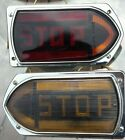 Pair Vintage Guide R-T5A Stop Taillights With Arrows Ex Original