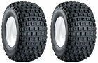 2 (TWO) AT16X8-7  16x8-7 16x8x7 16-8-7  Carlisle Knobby ATV Tires  QUICK SHIP