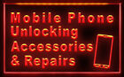AB007 B Mobile Phone Accessories Repairs LED Light Sign