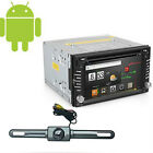 """Android 6.2"""" Double Din 3G-Wifi Car GPS Nav DVD Player BT Indash Radio+CAMERA"""