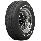 Coker BFGoodrich Radial T/A Raised White Letter Tire P225/60R15