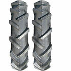 (TWO) 4.80-8 4.80x8 / 4.00-8 4.00x8 Tbls Lug Garden Tiller Snow Tires 4ply Rated