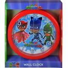 "PJ Masks 10"" Quartz Wall Mount Clock Kid's Room Decor"