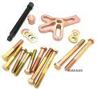 13pc Harmonic Balancer Damper Puller Tool Kit Pulley Gear Installer Removal Set