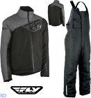 Fly Racing - Aurora 2-Piece Snow Jacket & Bibs - Men's Insulated Winter Suit NEW
