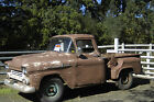 Chevrolet : Other Pickups Brown 1958 apache 3100 stepside pickup truck 6 cyl brown manual gasoline truck rwd 235
