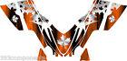 Arctic Cat M7 M8 M1000 Crossfire 2005 - 2011 Graphics Decal kit Canada Orange