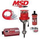 MSD Ignition Kit - Digital 6AL/Distributor/Wires/Coil/Bracket - Chrysler 413-440