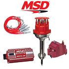MSD 9107 Ignition Kit Digital 6AL/Distributor/Wires/SS Coil Chrysler 413-440
