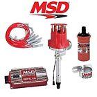 MSD 9029 Ignition Kit Digital 6AL/Distributor/Wires/Coil SBC Corvette Tach Drive