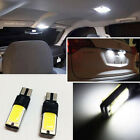 2P White COB LED T10 168 194 2825 W5W 2886x Bulbs Car Vehicle Light LC-1