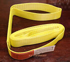 "EE1-902 x 12ft Polyester Web Lifting Sling 2"" x 12' Lifting Tow Strap eye to eye"