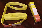 "2x EE1-902 12ft Polyester Web Lifting Sling 2"" x12' Lifting Tow Strap eye to eye"