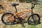 HARO BIKES Backtrail X3 BMX Bike #4130 Cromo Main Tubes, Little Use, W/ Helmet