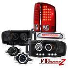 Ram PowerTech 3.7L ST Projector Halo Headlight LED Brake Taillights DRL Foglight