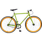 "Galaxie 700C 54"" Bicycle 54 Green/Orange"