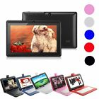 """New 7""""Android 4.4 Quad Core 4GB Dual Camera Tablet PC WiFi Bluetooth+Keyboard D1"""