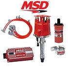 MSD 9000 Complete Ignition Kit - Digital 6AL/Distributor/Wires/Coil/Bracket SBC
