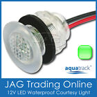 GREEN LED LIVEWELL BAIT TANK LIGHT/COURTESY LAMP- Boat/Caravan/Stair/Step/Accent
