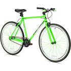 700C Kent Men's Road Bike Green Bicycle Steel City Street 1 Speed ST Formula New