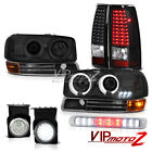 2003 Sierra [BRIGHTEST] CCFL Headlights Signal SMD Tail Lights Fog High Stop LED