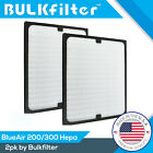 2 REPLACEMENT FILTERS FIT BLUEAIR BLUE AIR 200 300 SERIES AIR PURIFIER 200PF