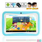 7'' Dual Core 4GB HD Tablet Android 4.4 KitKat Dual Camera WiFi Bundle for Kids
