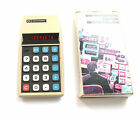 Vintage Commodore 886D LED Calculator in Original Box Works Perfectly Red Line