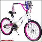 "Girl's BMX 20"" Freestyle Bicycle Handlebar Bag Stylish Steel Frame Bike Kids NEW"